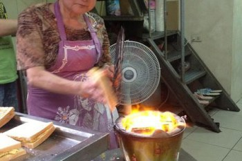 【台南食記】武廟中西區-阿嬤炭烤三明治 手工古早味美食