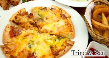 【台北食記】Trine & Zen崔妮傑恩 pizza炸雞吃到飽!微風松高美食推薦!