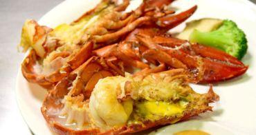 【台北食記】百家樂鐵板燒 免費升級成一整隻龍蝦!水族箱自己養才夠青啦!