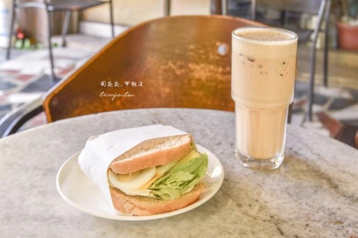 【台南咖啡廳推薦】魚羊鮮豆東豐店 近成大的平價早午餐!自家製麵包貝果吐司新鮮好吃