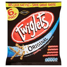 Jacobs Twiglets Snacks 6X24g