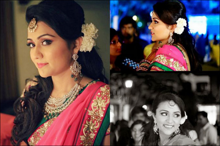 5 Gorgeous Contemporary Indian Bridal Hairstyles For Reception
