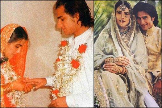 Image result for saif ali khan and amrita singh