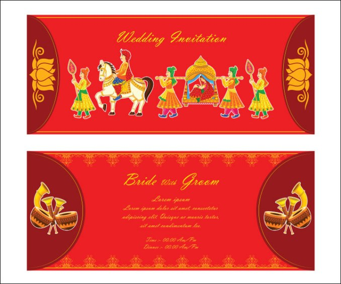 Editable hindu wedding invitation templates ppt newsinvitation wedding invitation ppt templates india invitations ideas stopboris Choice Image