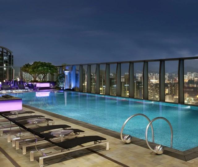 Best Rooftop Swimming Pools In Hong Kong