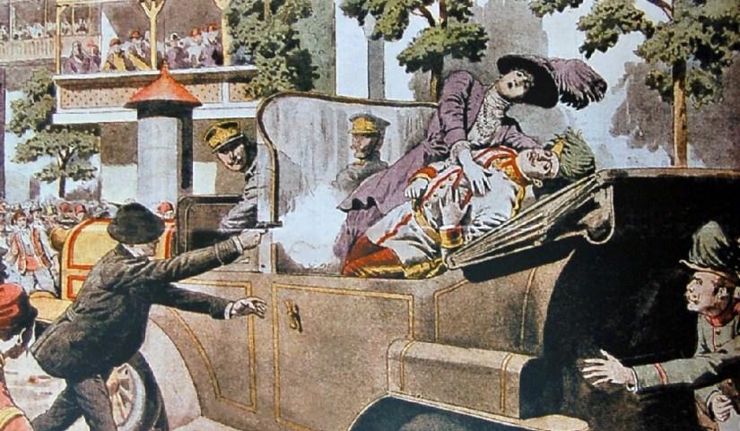 Image result for archduke franz ferdinand assassination photos