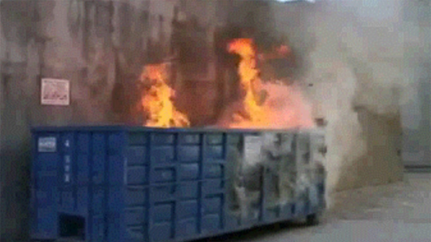 An Oral History Of Dumpster Fire