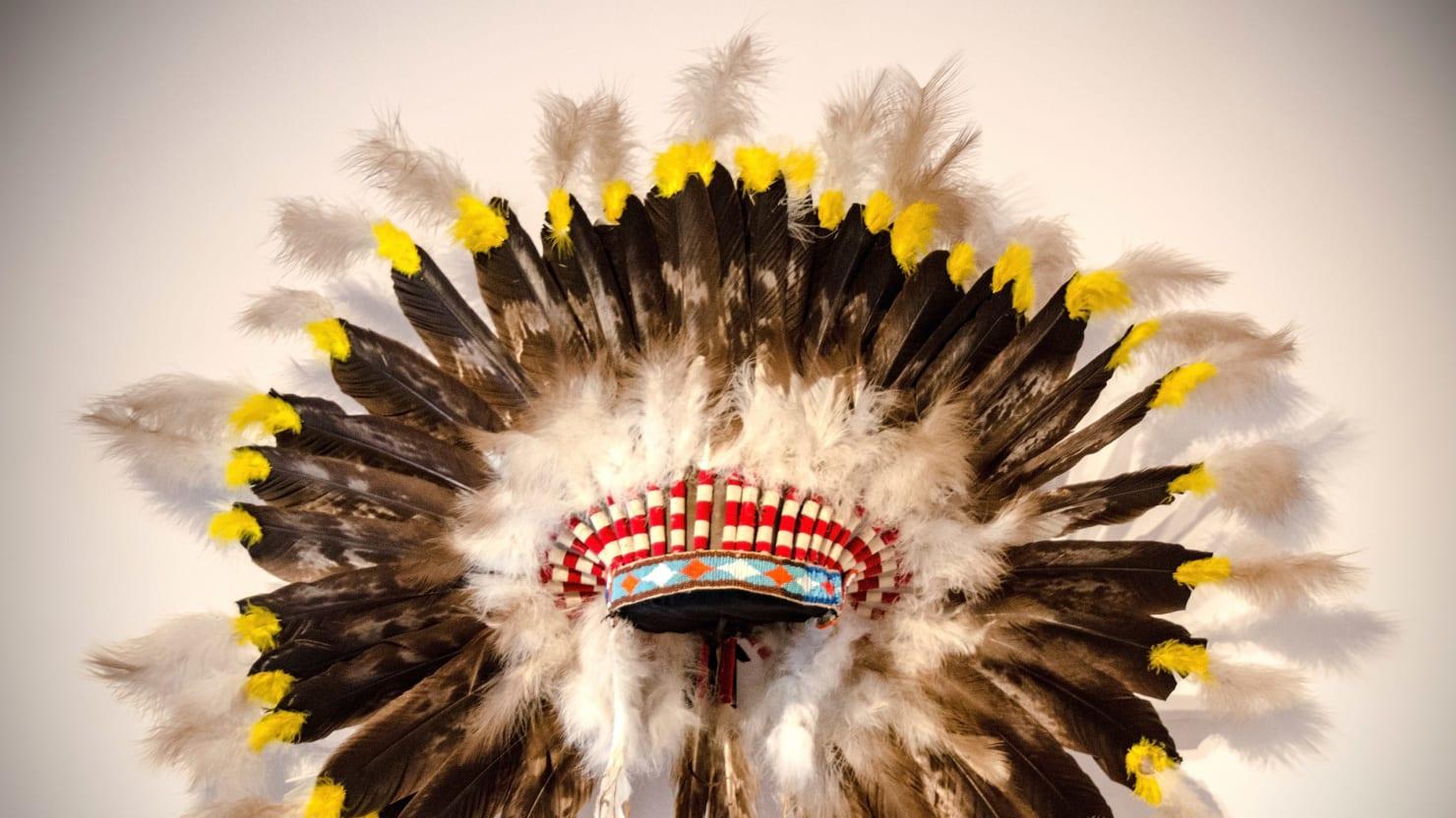 Half White Half Native American