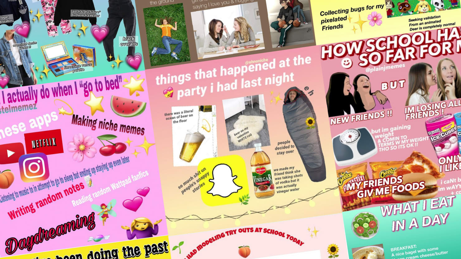 Niche Memes Are The Secret Clip Art Diaries Teens Are Posting On