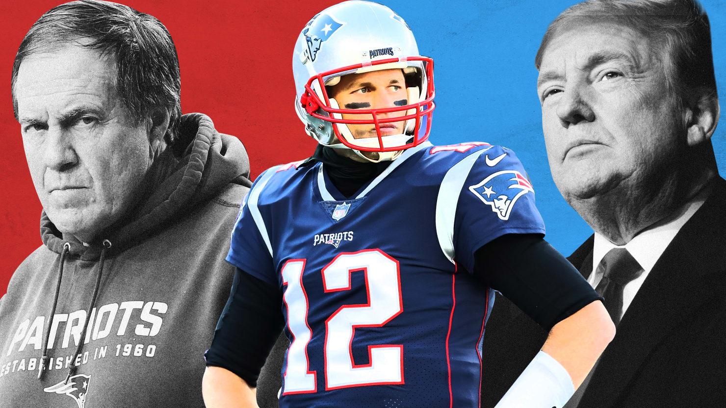 Tom Brady And The New England Patriots Trump Mentality