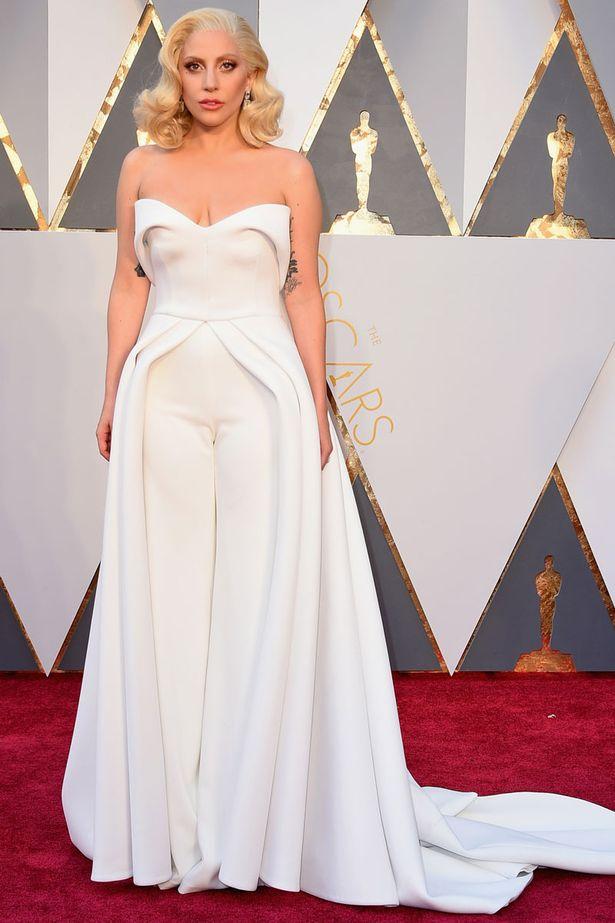 Oscars 2016 best dressed Lady Gaga
