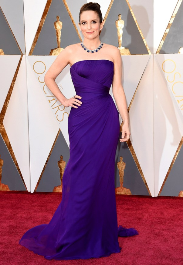 Oscars 2016 best dressed Tina Fey