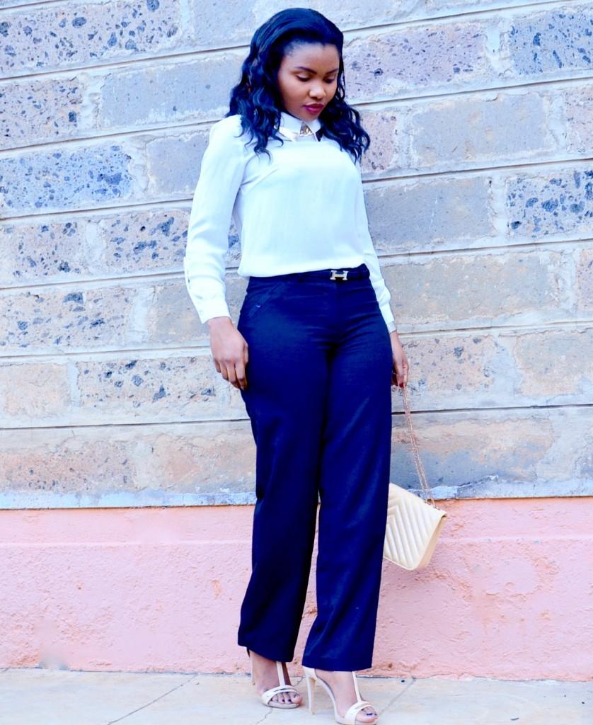 minimalist work wear