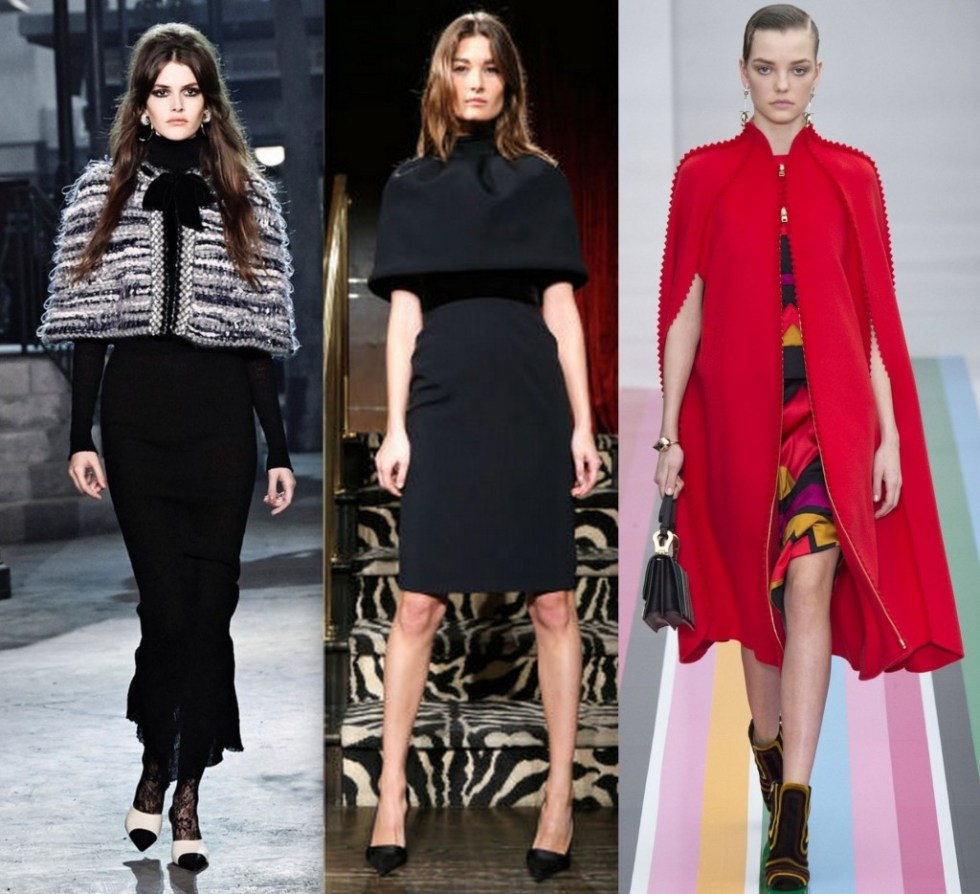the elegant lane whats trending capes and capelets