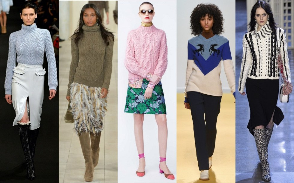 the elegant lane whats trending knits