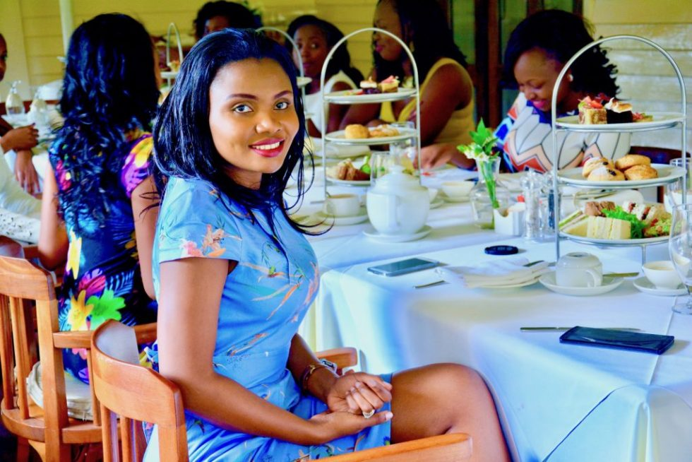afternoon tea at the lord erroll : high tea style
