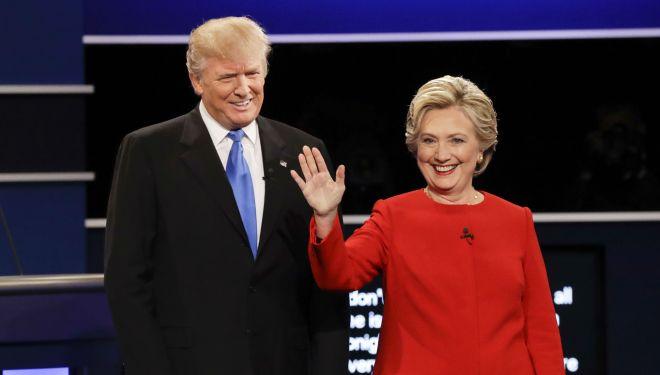 trump and clinton