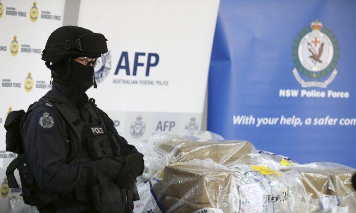 Australian Police Seize 660Kg of Hard Drugs in Sydney