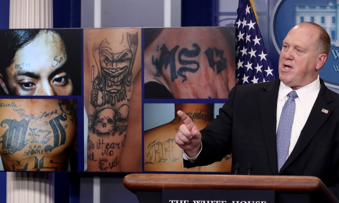 ICE deputy discusses MS-13 gang