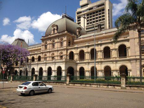Queensland Parliament Building in Brisbane, Australia on October 19, 2013 (Wikimedia Commons CC)