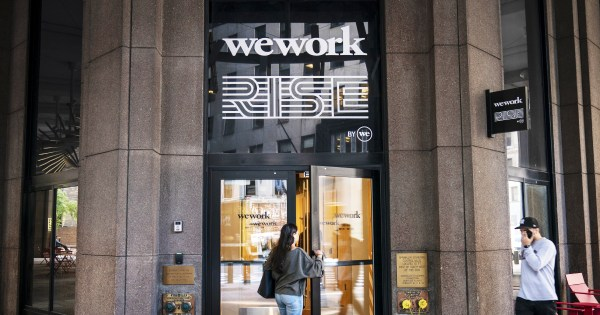 WeWork, WeWait, WeWorry: What