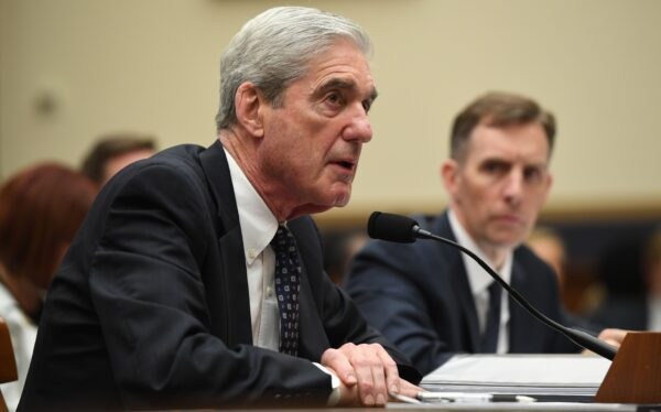 Former Special Counsel Robert Mueller on Capitol Hill
