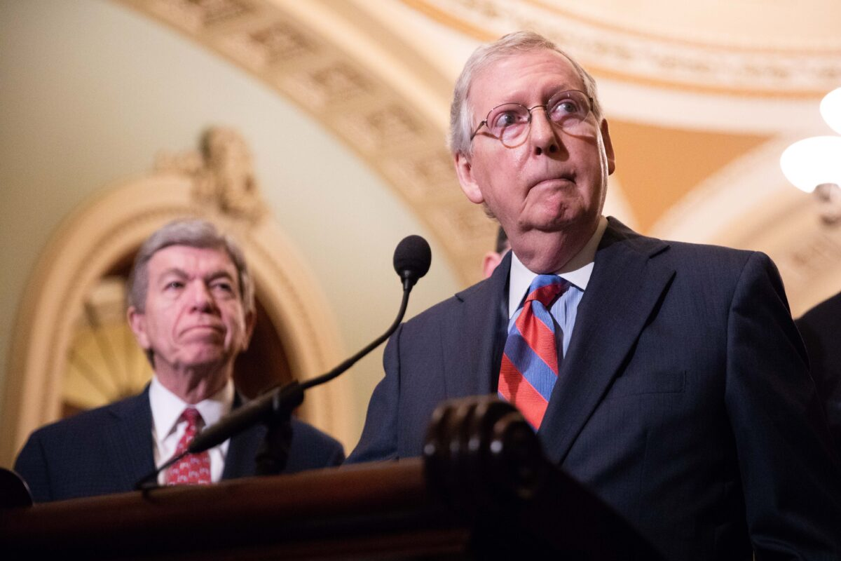 Senate Majority Leader Mitch McConnell (R-Ky.)