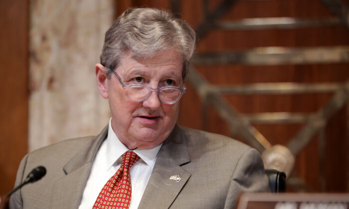 Sen. John Kennedy Says Impeachment Inquiry 'As Rigged as a Carnival Ring Toss'