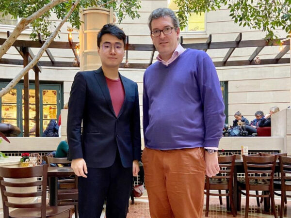 simon cheng with benedict rogers