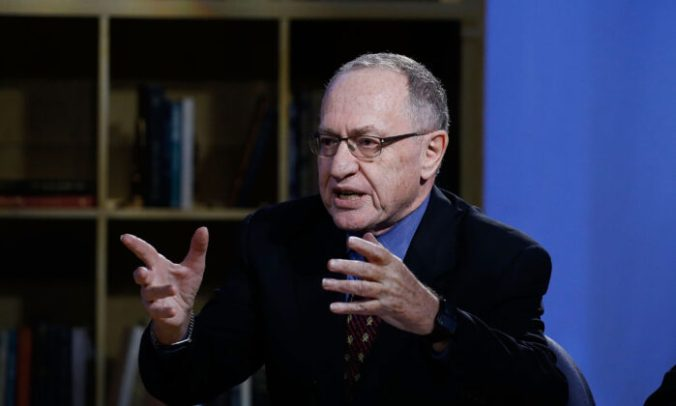 """Alan Dershowitz attends Hulu Presents """"Triumph's Election Special"""" produced by Funny Or Die at NEP Studios in New York City on Feb. 3, 2016. (John Lamparski/Getty Images for Hulu)"""