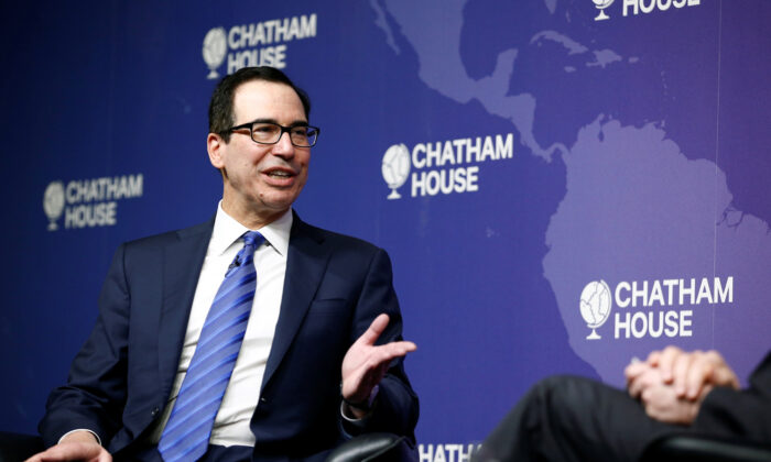 Mnuchin Optimistic US-UK Trade Deal Gets Signed This Year