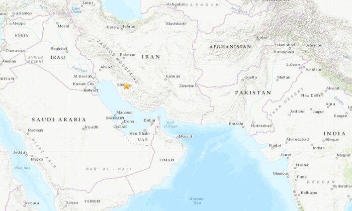 5.1 Magnitude Earthquake Strikes Southern Iran: USGS