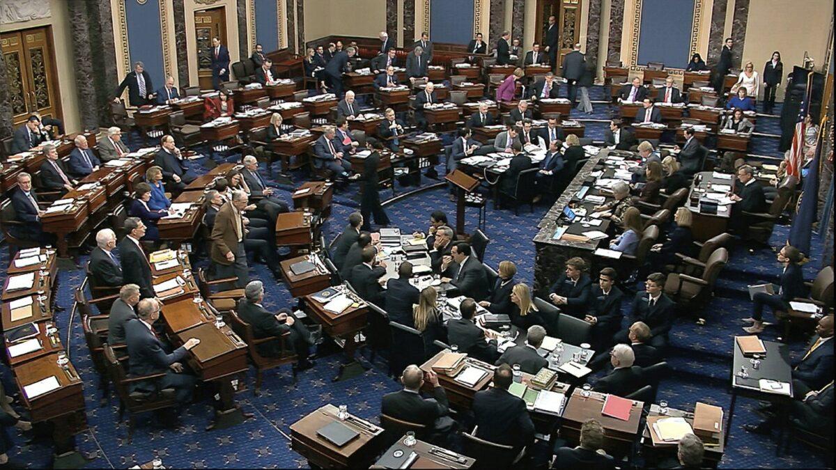 senate rejects witness