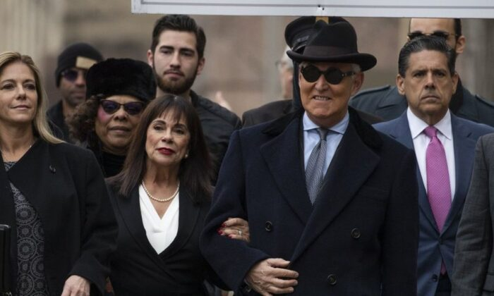 Roger Stone Sentenced to More Than 3 Years in Prison