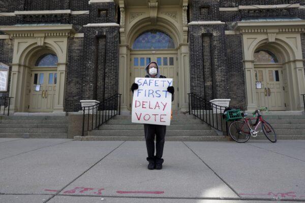 Virus Outbreak Wisconsinn Election