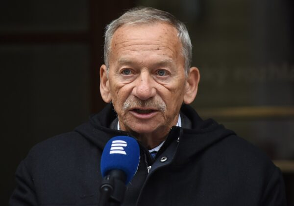 Czech Senate speaker Jaroslav