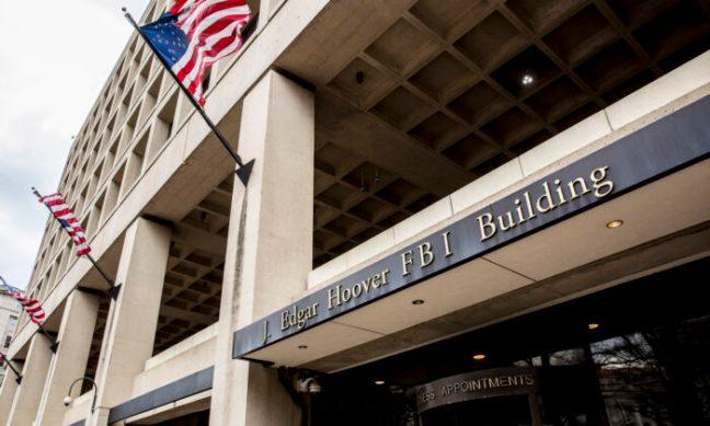 FBI headquarters in Washington on March 8, 2018. (Samira Bouaou/The Epoch Times)