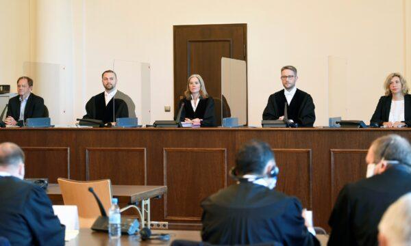 Bruno D Nazi Crime judges