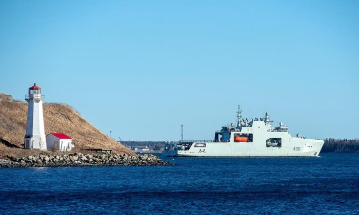 Canada's Navy Enters New Era With New Arctic Warship