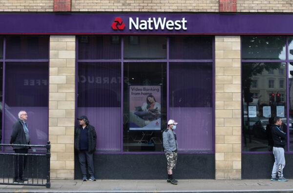 A Natwest bank in Wimbledon