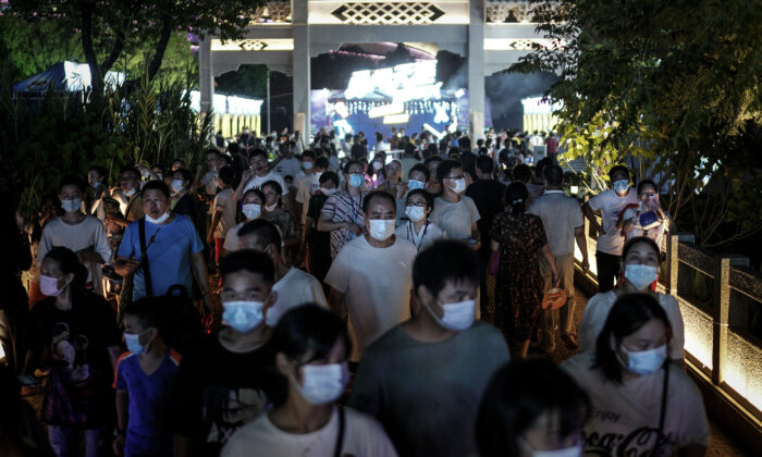 Chinese Regime Outlines Scenarios of COVID-19 Outbreak This Winter in China's South