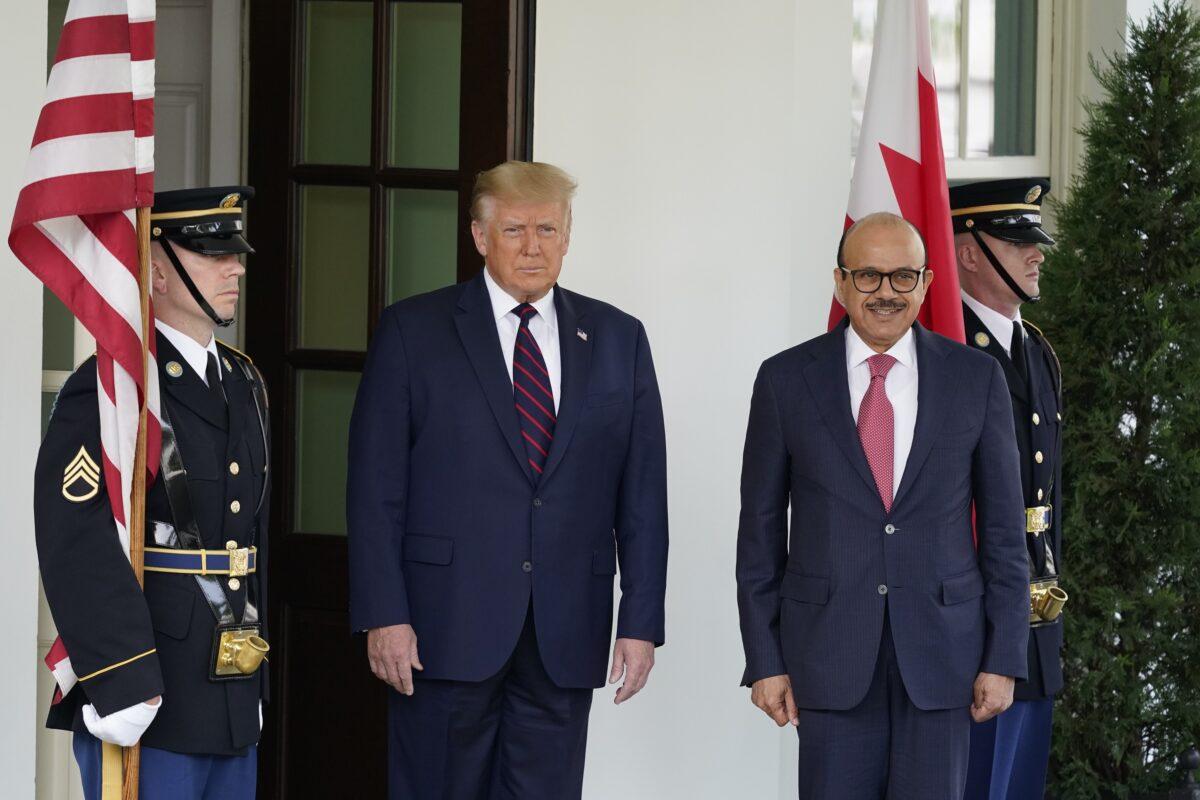 trump and bahrain