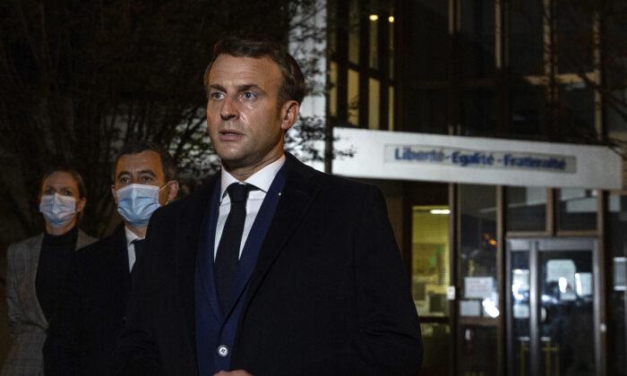 French Leader Macron Decries Terrorist Beheading of History Teacher