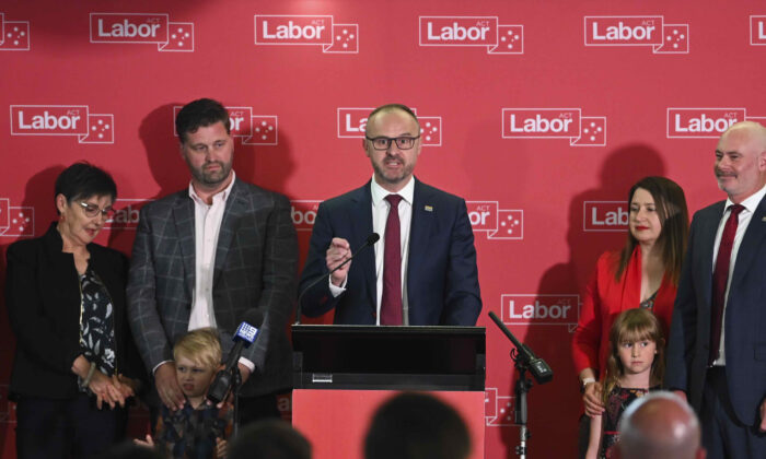 Labor Wins Australian Capital Territory Election With Greens