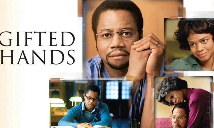 "Cuba Gooding Jr. as Ben Carson in the inspiring bioptic, ""Gifted Hands."" (Sony Pictures Television)"
