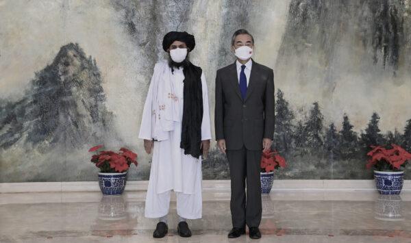 Wangi and the Taliban leader