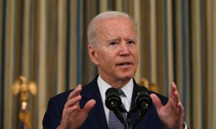President Joe Biden delivers remarks in Washington on Sept. 3, 2021. (Jim Watson/AFP via Getty Images)