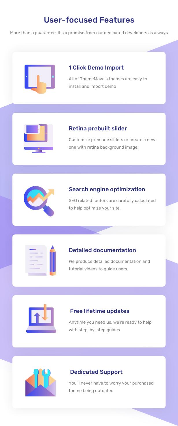 AeroLand - Responsive App Landing and Website WordPress Theme - 19
