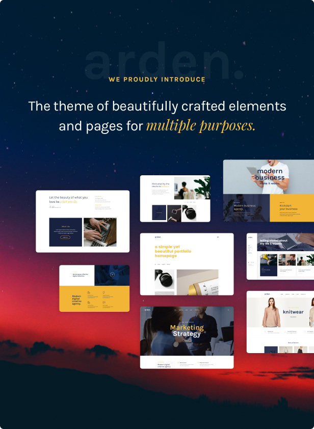 Agency Business Corporation WordPress Theme - Modern and Flexible design