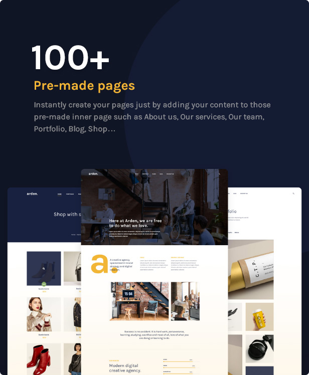 Agency Business Corporation WordPress Theme - 100+ Pre-made pages